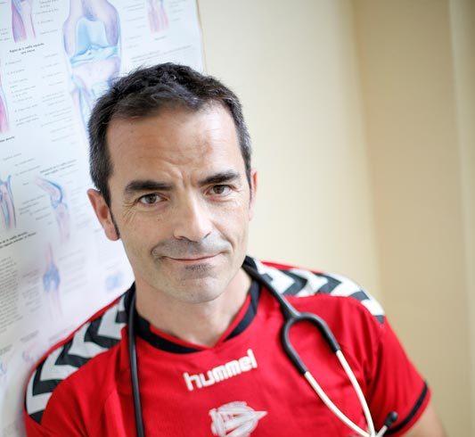 Entrevista al equipo médico Deportivo Alavés